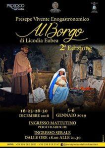 Presepe Vivente Enogastronomico al Borgo di Licodia Eubea @ Licodia Eubea