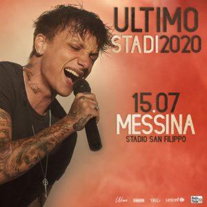 """Concerto di Ultimo Messina 2020 Tour negli Stadi @ Stadio """"Franco Scoglio"""""""