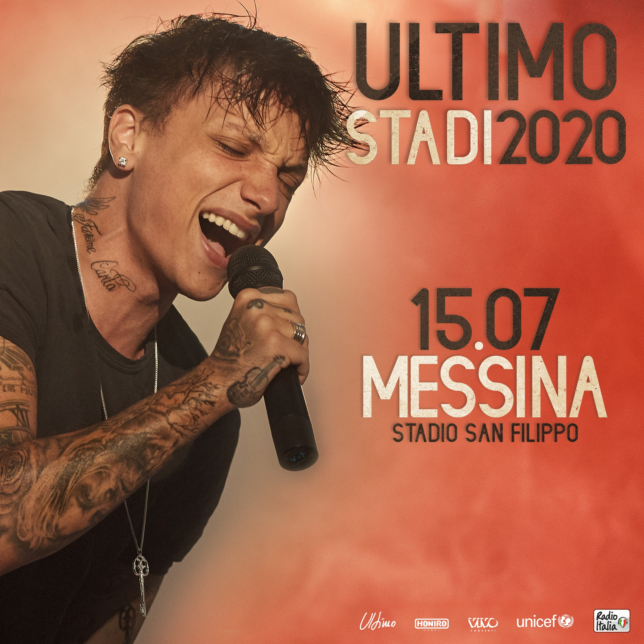 Concerto di Ultimo Messina 2020