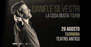 Concerto di Daniele Silvestri Taormina 2020 @ Teatro Antico di Taormina