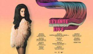 Levante live in Sicilia 2021 @ Pollina, Castellamare del Golfo, Zafferana Etnea