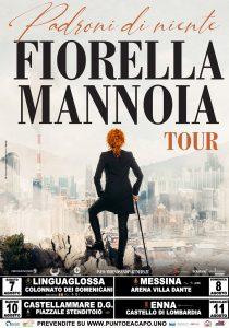 Fiorella Mannoia con Padroni niente tour in Sicilia