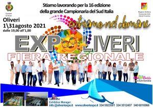Oliveri Expo 2021, culture, l'artigianato locale, le passioni del tempo libero in un'atmosfera di festa e di aggregazione @ Campo Sportivo - Oliveri (ME)