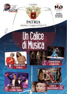 Un calice di musica a Castiglione di Sicilia @ Solicchiata