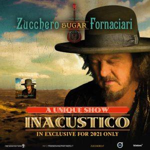 """Zucchero """"Inacustico"""" a Taormina in un doppio concerto"""