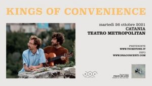 King of Convenience in concerto a Catania @ Teatro Metropolitan