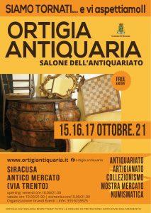 Ortigia Antiquaria 2021